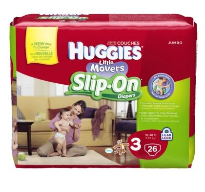 Huggies Little Movers Slip-On Diapers Target Deal