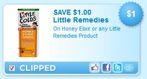 Little Remedies or Honey Elixir Printable Coupon