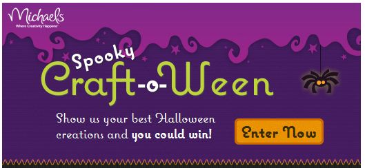 Michaels Facebook Spooky Craft-o-ween Halloween Contest