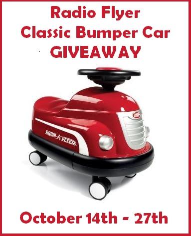Radio Flyer Bumper Car Giveaway