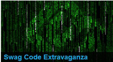 Swag Code Extravaganza 100 free Swag Bucks