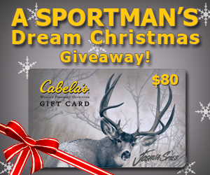Cabela's Gift Card Giveaway