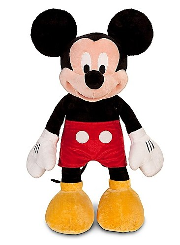 Disney Store Black Friday 20 off promo code Large Mickey Mouse Plush Toy 25 Plush