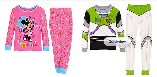 Disney Store Buy One Get One Free Pjs