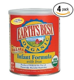 Earth's Best Organic Infant Formula