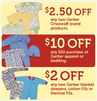 Gerber Childrenswear_ Apparel Printable Coupons-1