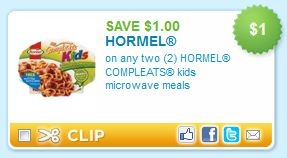Hormel Kids Meals Printable Coupons