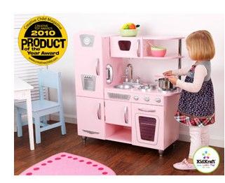 KidKraft Vintage Kitchen Pink - Walmart.com