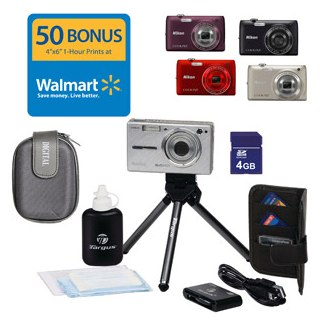 Nikon COOLPIX S4100 Digital Camera Value Bundle