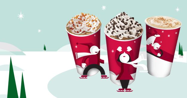 Starbucks Buy one Get one Free Holiday Beverage