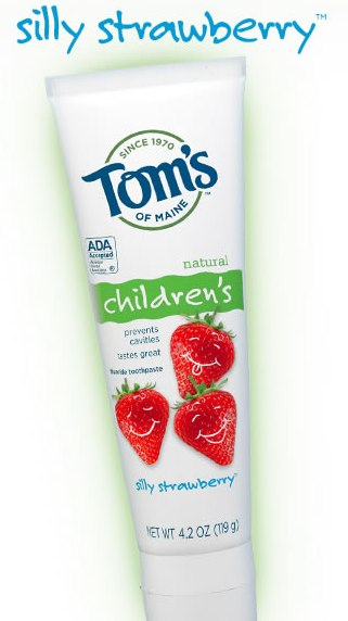 Tom's of Maine Childrenss Toothpaste Free Sample