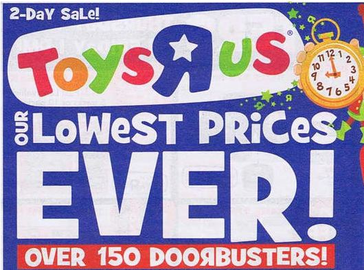 Toys R Us Black Friday Ad Sneak Peak