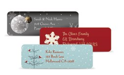 Vistaprint Free Holiday Return Address Labels