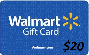 $20 Walmart Gift Card Giveaway