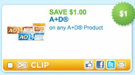 A+D Product Printable Coupon