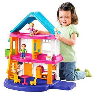 Walmart Toy Deals Fisher Price Dollhouse