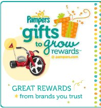 Free Pampers Gifts to Grow Code