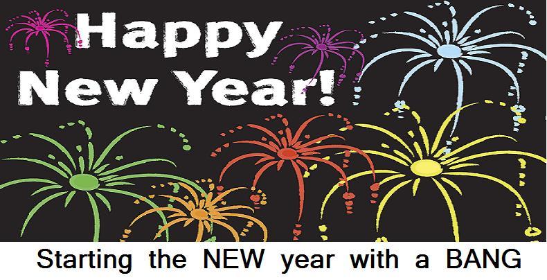New Year Bang Flash Giveaway