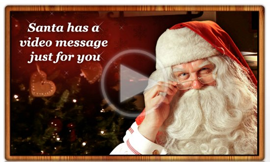 Santa | PNP - Portable North Pole | Free personalized video message from Santa
