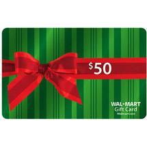 Walmart $50 Gift Card $10 Amazon Giveaway