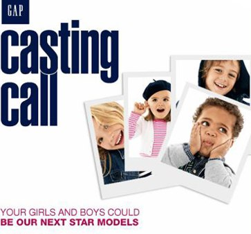 The Gap Casting Call 2011 2012 information sign up