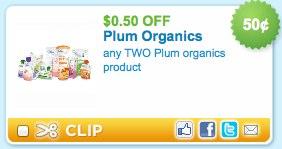Plum Organics Printable Coupon