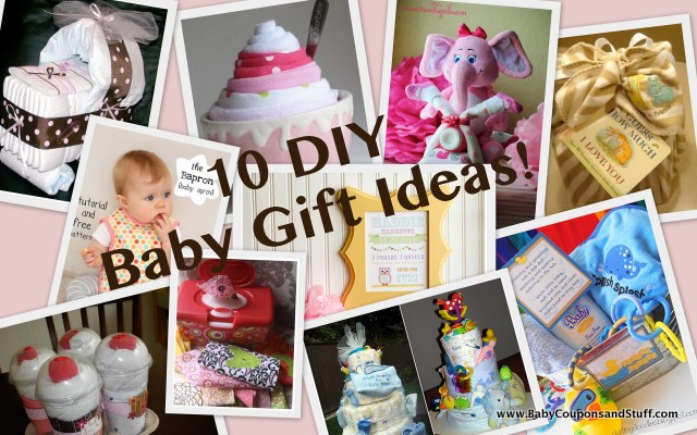 Baby Gifts Ideas Pinterest : Adorable diy baby gift ideas coupons and stuff