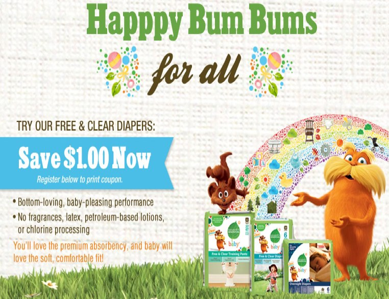 Seventh generation diapers coupon printable