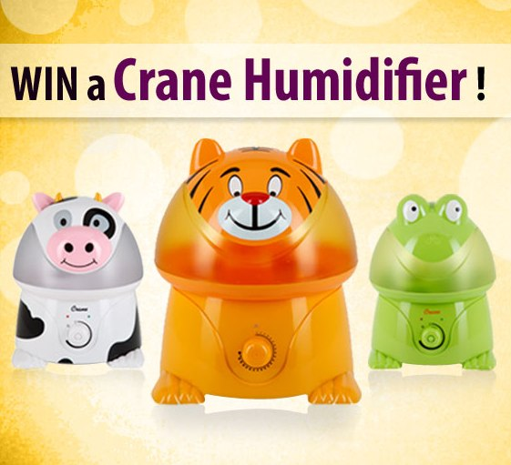 how to clean crane baby humidifier