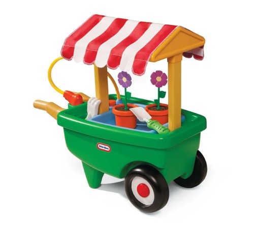 Amazon.com Little Tikes 2-in-1 Garden Cart and Wheelbarrow