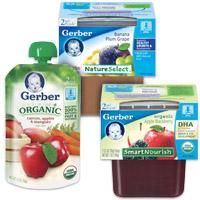 Gerber 2nd Foods coupon