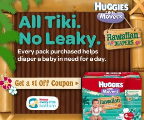 Huggies Hawaiian Diapers printable coupon