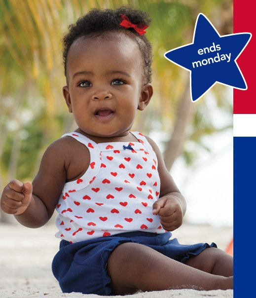 Memorial Day Baby and Kids Sales and Deals