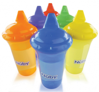 Nuby No Spill Hard Spout Sippy Cup Giveaway