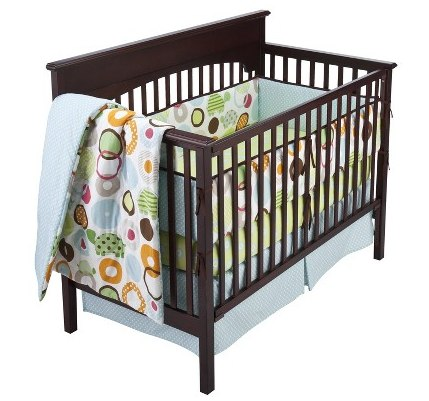 target daily deals ~ geo turtles 10pc crib bedding set