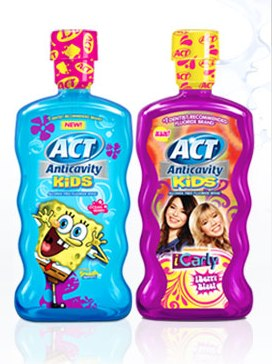 ACT Anticavity Fluoride Rinse for Kids printable coupon