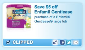 Enfamil Printable Coupon