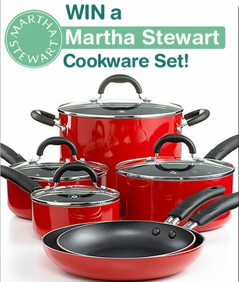 Win a Martha Stewart Cookware Set