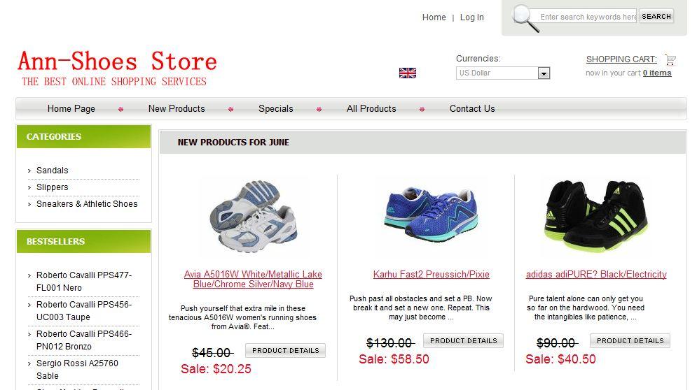 anne-shoes.com scam