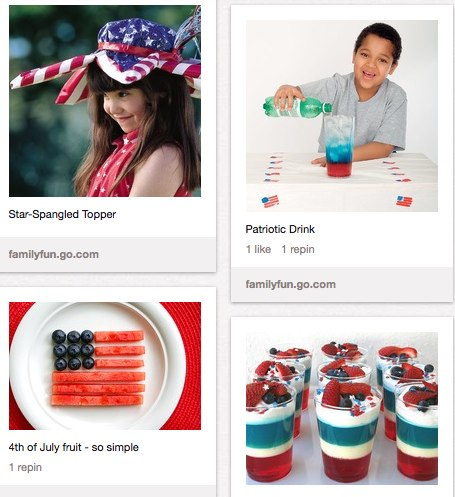 4th of July Crafts and Treats for Kids