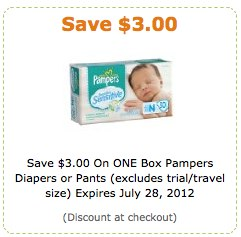 Amazon Pampers Coupon