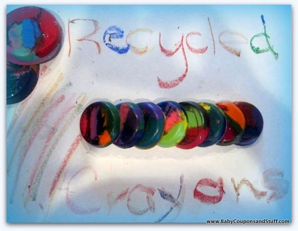 How to Melt and Reuse Crayons