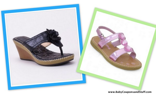 Totsy Sandals for Moms and Toddlers