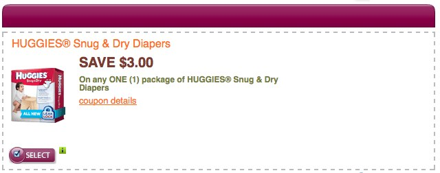 HUGGIES® Printable coupons