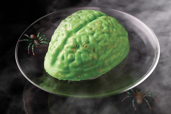 Free Halloween Jell-o Brain Mold