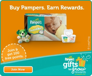Free Pampers Gifts to Grow  Points