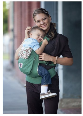 ERGObaby Organic Baby Carrier, Green River Rock_ Baby