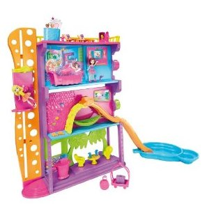 Polly Pocket Spin _N Surprise Hotel Playset